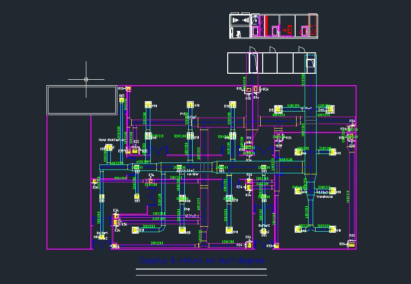 HVAC CAD Deepening Design